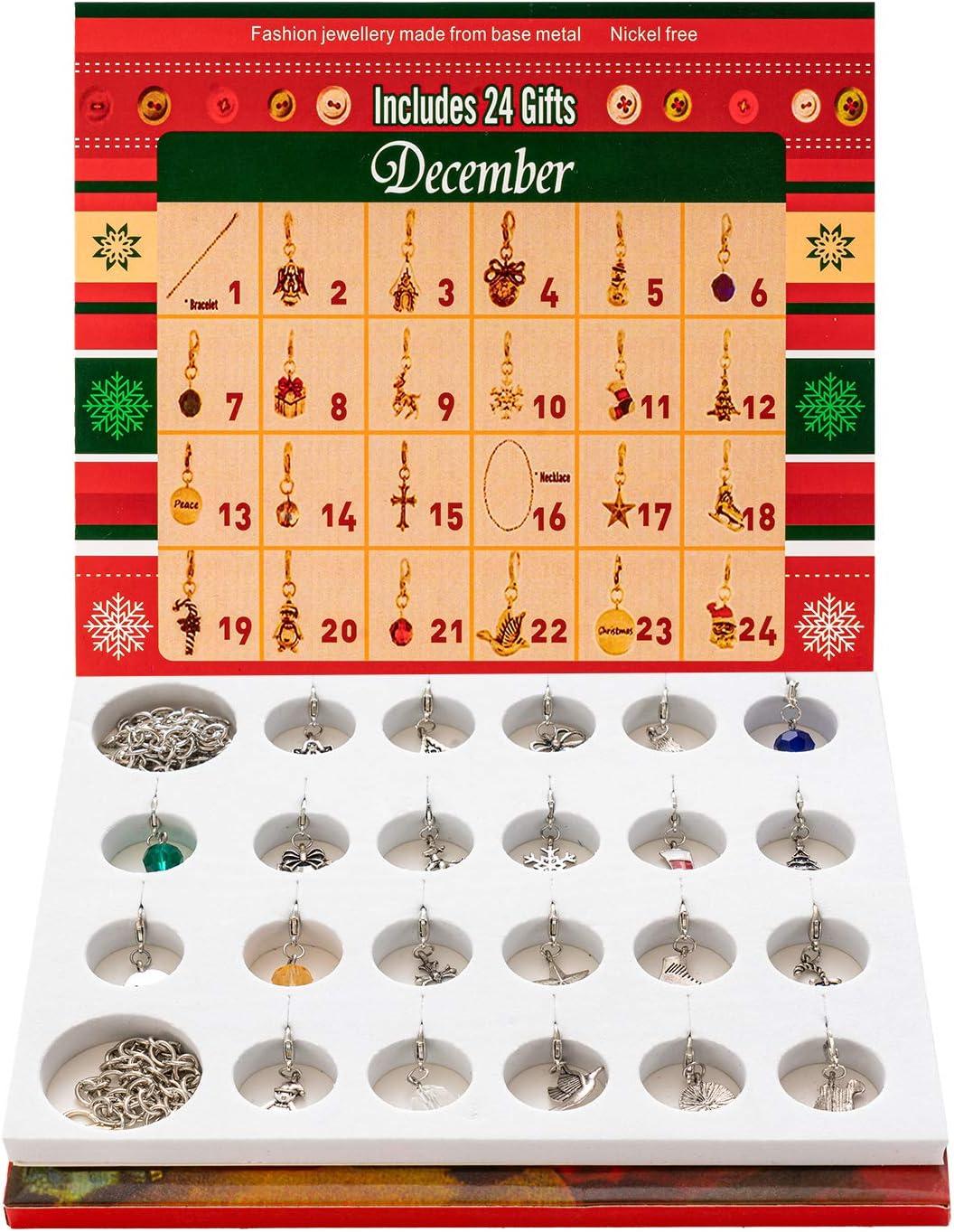 HBselect Calendario De Adviento Ni/ños Ni/ñas con 22 Encantos