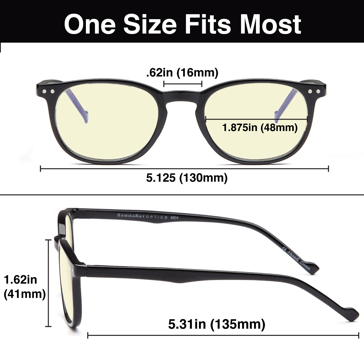 7377a83380c Amazon.com  Gamma RAY 010 Slim Vintage Computer Readers Reading Glasses  Anti Reflective Anti Glare Anti Eyestrain Lens for Digital Screens