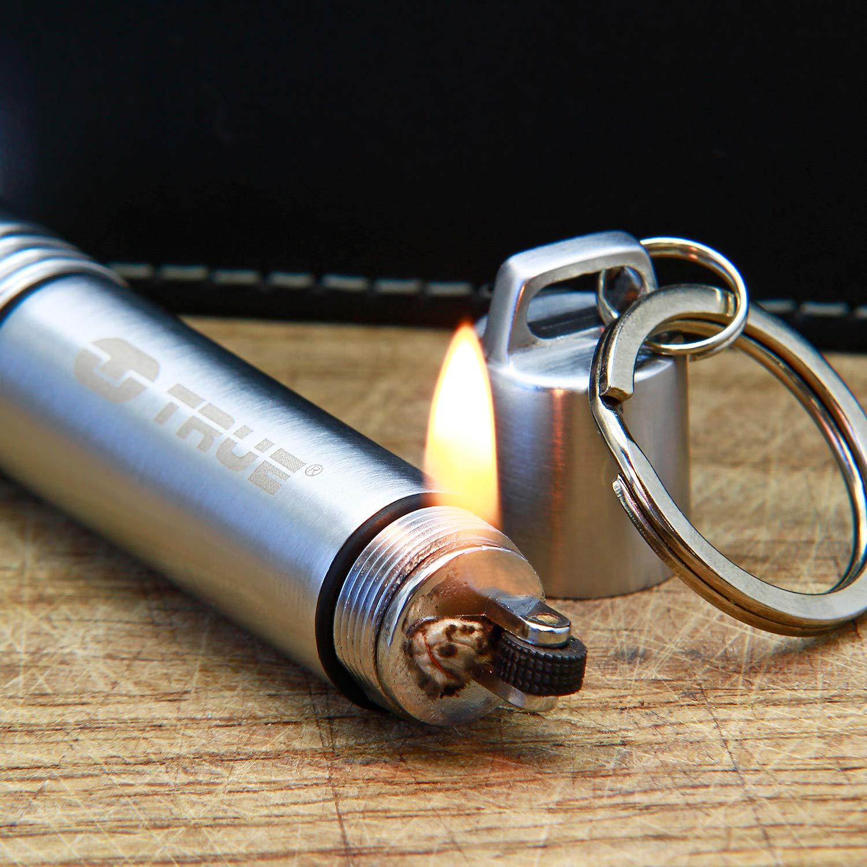 True Utility® FireLite - Llavero con mechero y Linterna: Amazon.es: Coche y moto