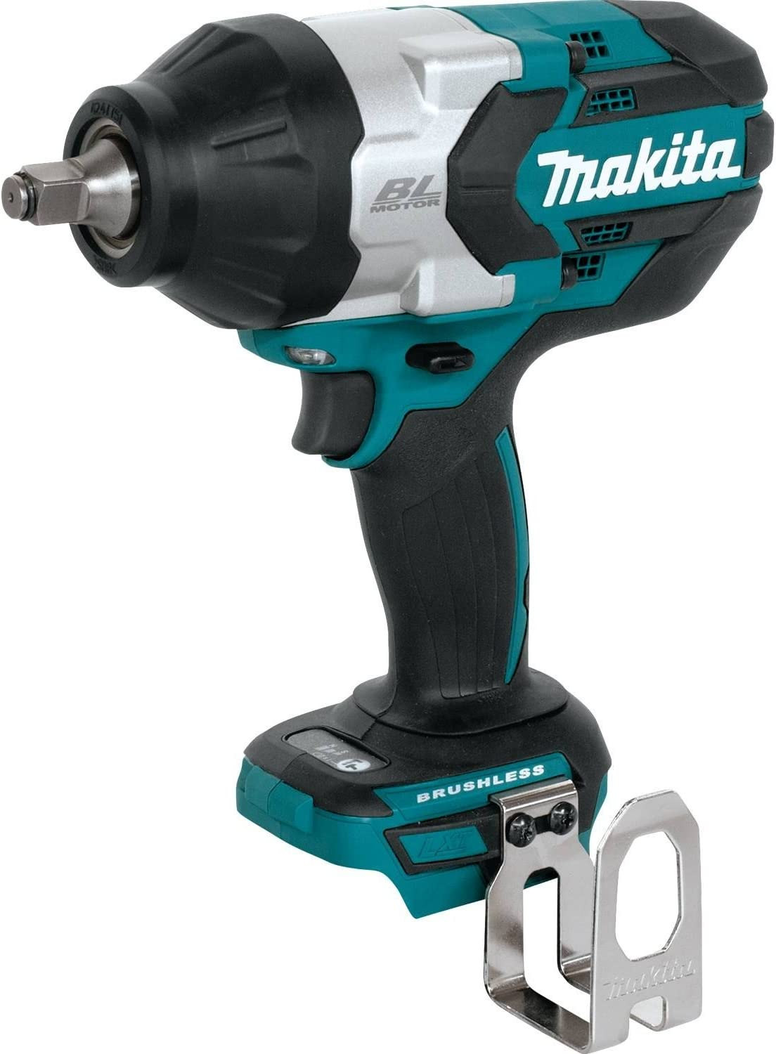 Makita XWT08Z LXT Lithium-Ion Brushless Cordless High Torque Square Drive Impact Wrench