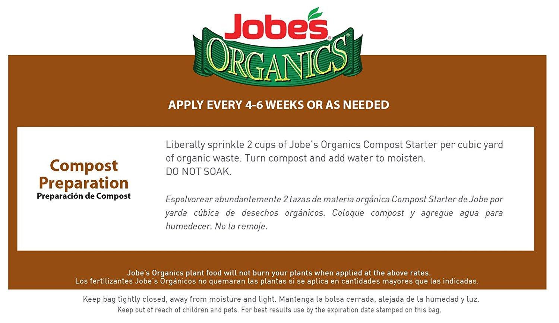 Amazon.com : Jobes Organics Compost Starter 4-4-2 Organic Gardening Compost Accelerator, 4 pound bag (3-pack) : Garden & Outdoor