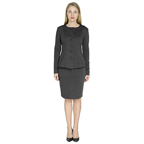Women S Skirt Suits For Work Amazon Com