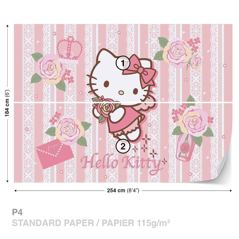 Hello Kitty Wall Mural Photo Wallpaper Room Decor 1815ws