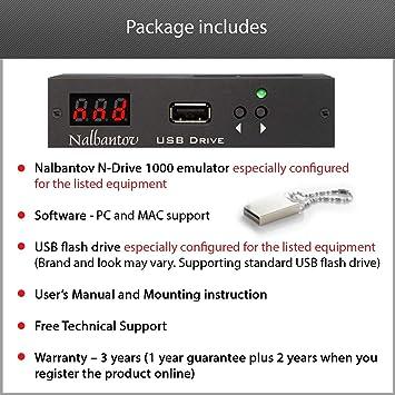 Nalbantov N-Drive 1000 un emulador de disquetera USB para ...