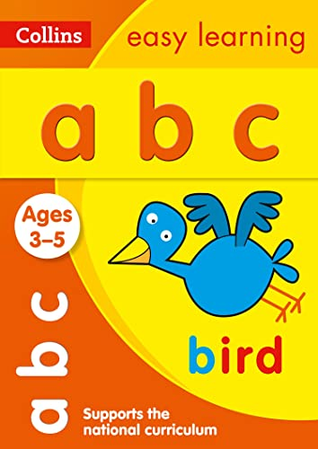 ABC Ages 3-5: Collins Easy Learning (Collins Easy Learning Preschool)