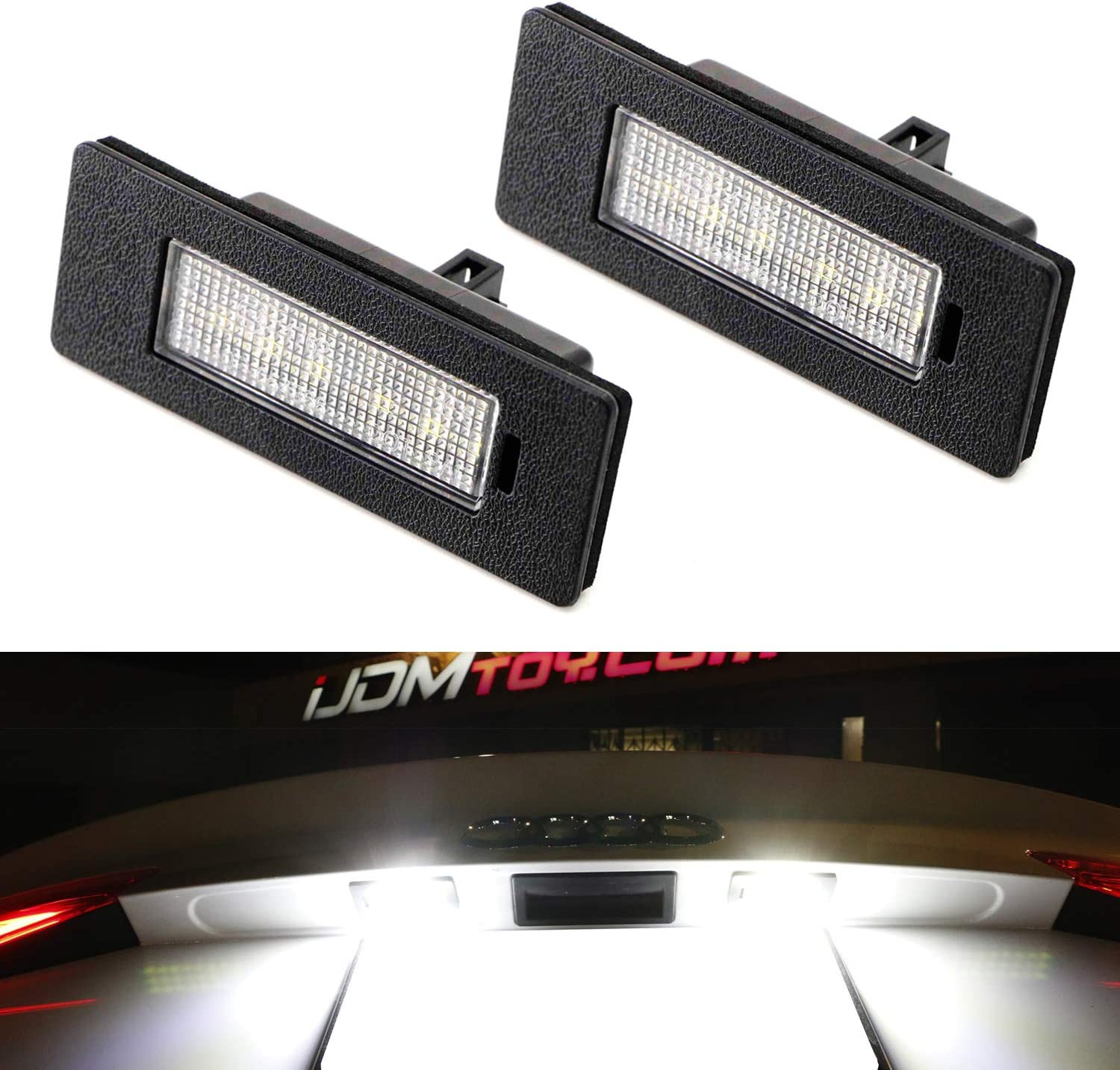 Audi A3 8P 8SMD LED Error Free Canbus Side Light Beam Bulbs Pair Upgrade