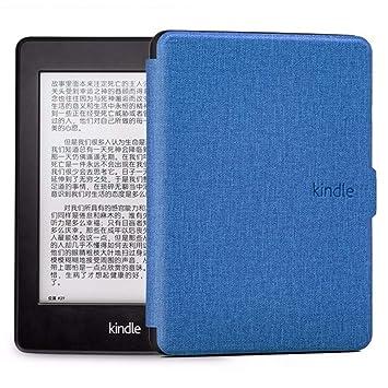 WDBHTAO Funda Kindle Kindle Caso Piel Cubierta De Silicona Suave ...