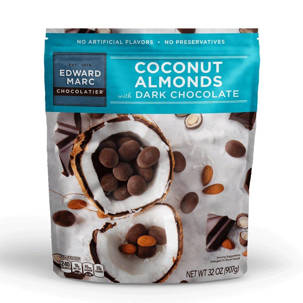 Amazon.com : Mark Avenue Chocolates DARK CHOCOLATE COCONUT