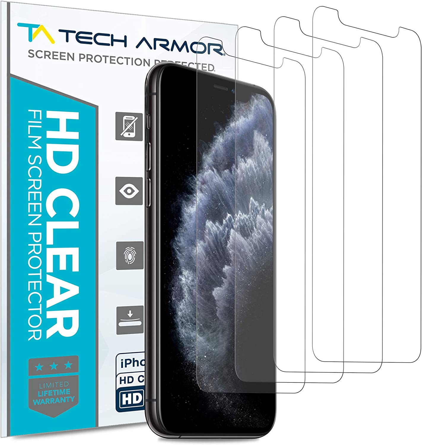 Mexxprotect 6X Ultra-Clear Screen Protector for Leotec Sport Z Residue-Free Removal 100/% accurately Fitting Very Simple Assembly 6 Protective Films