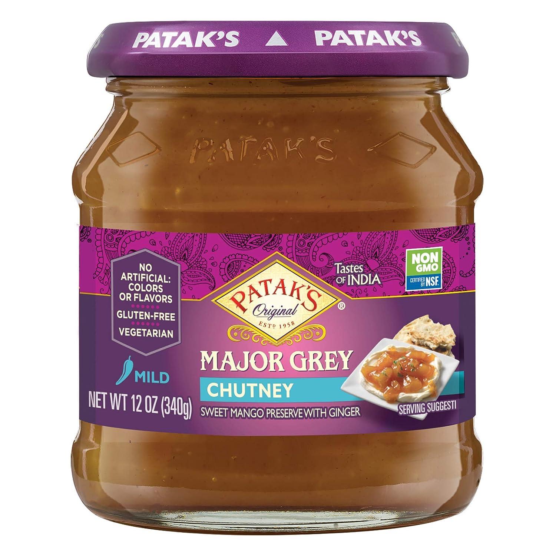 Patak's Major Grey Chutney, 12 Fl Oz