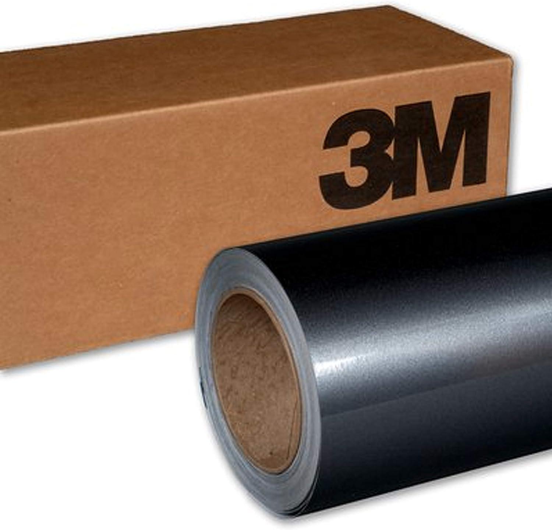 3M 1080 G201 GLOSS ANTHRACITE 5ft x 1ft (5 Sq/ft) Car Wrap Vinyl Film