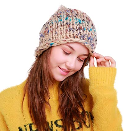 68942747285 Image Unavailable. Image not available for. Color  Longay Women Colorful  Ski Beanie Skull CC Cap Knitting Hat Crochet Hat for Christmas Birthday Gift