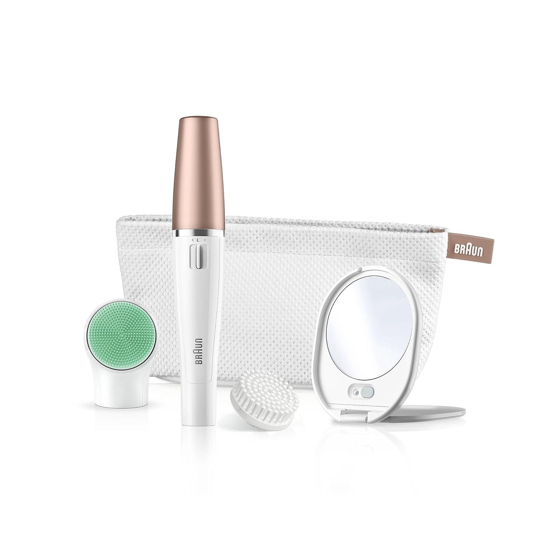 Braun FaceSpa V Sistema En de cepillo de limpieza y depilación facial: