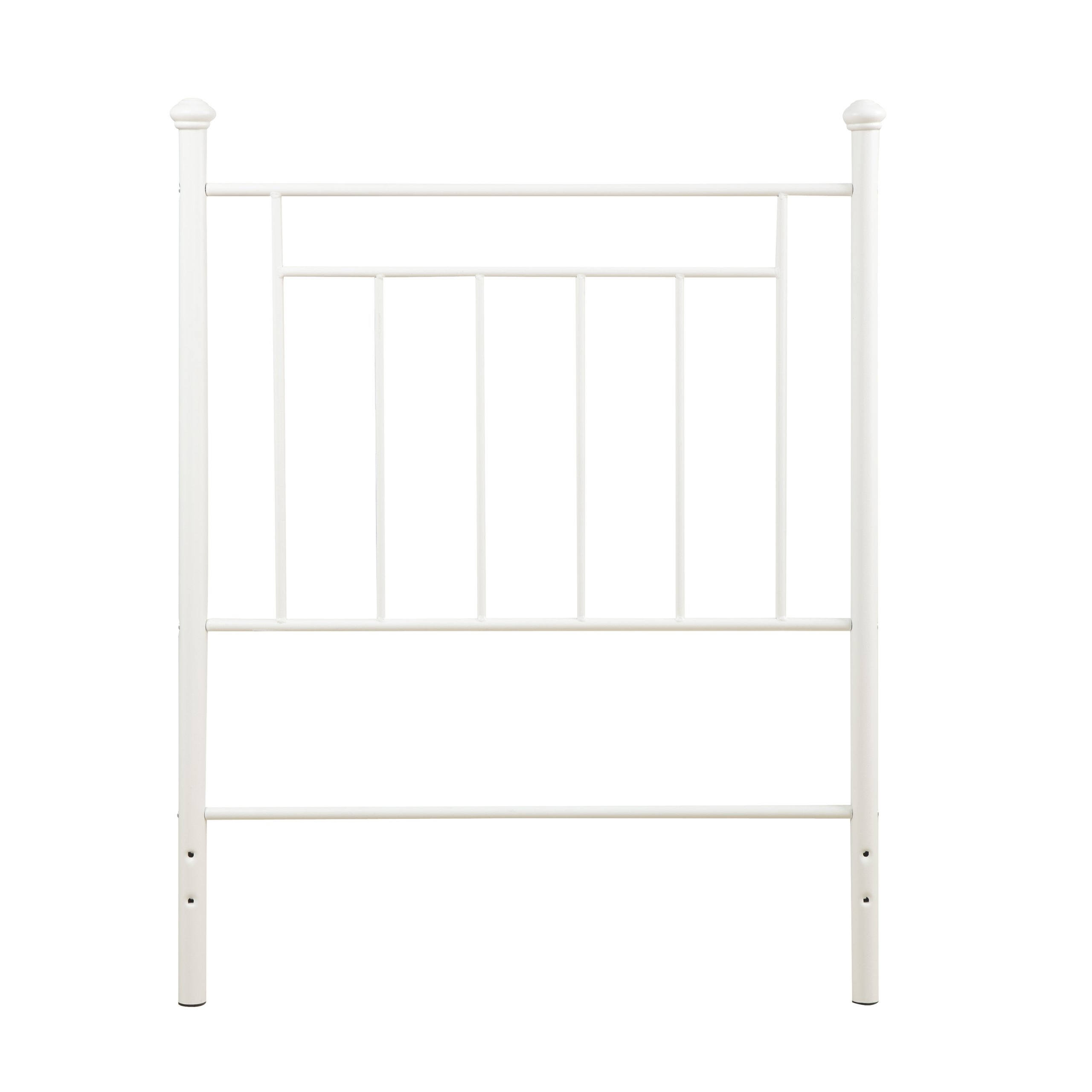 Dorel Living Metal Headboard, Twin, White