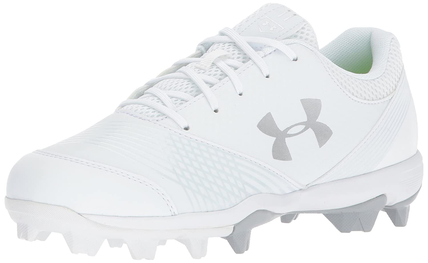 Under Armour Women's Glyde RM Baseball Shoe B06XCLFXKN 10 M US|White (100)/White