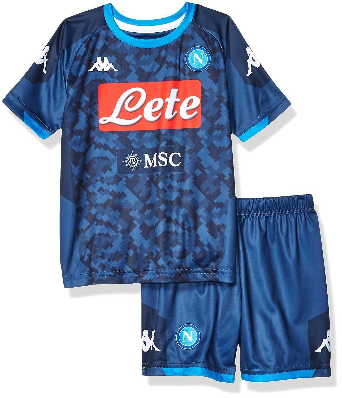 Blue 6 Years Ssc Napoli Italian Serie A Junior Away Goalkeeper Match Kit