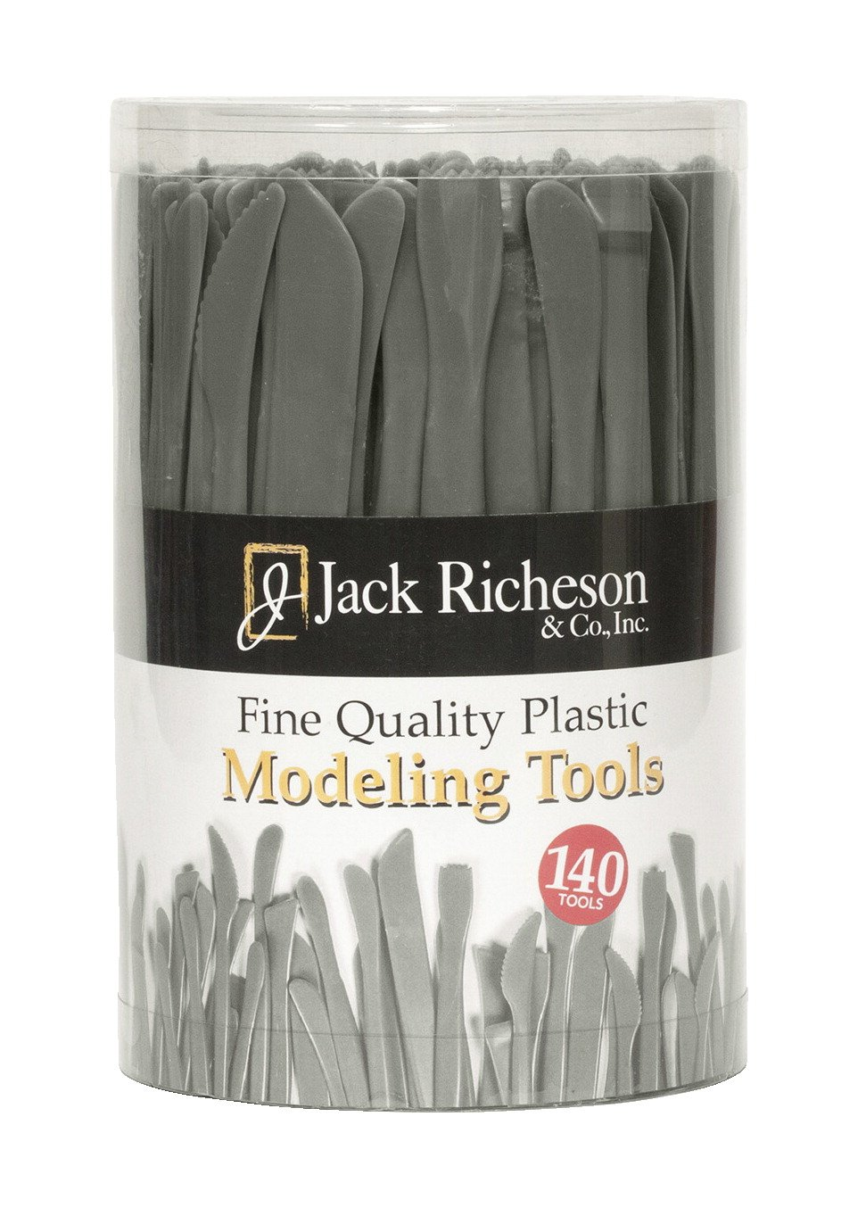 Jack Richeson Economy Heavy Duty Student Modeling Tool Set, 6 in, Plastic, Set of 140 by Jack Richeson