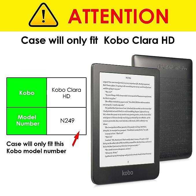 Forefront Cases Kobo Clara HD 2018 Estuche y Soporte: Amazon.es ...
