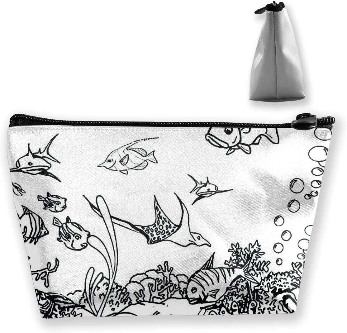 Coloring Art Purse Hanger and Pouch