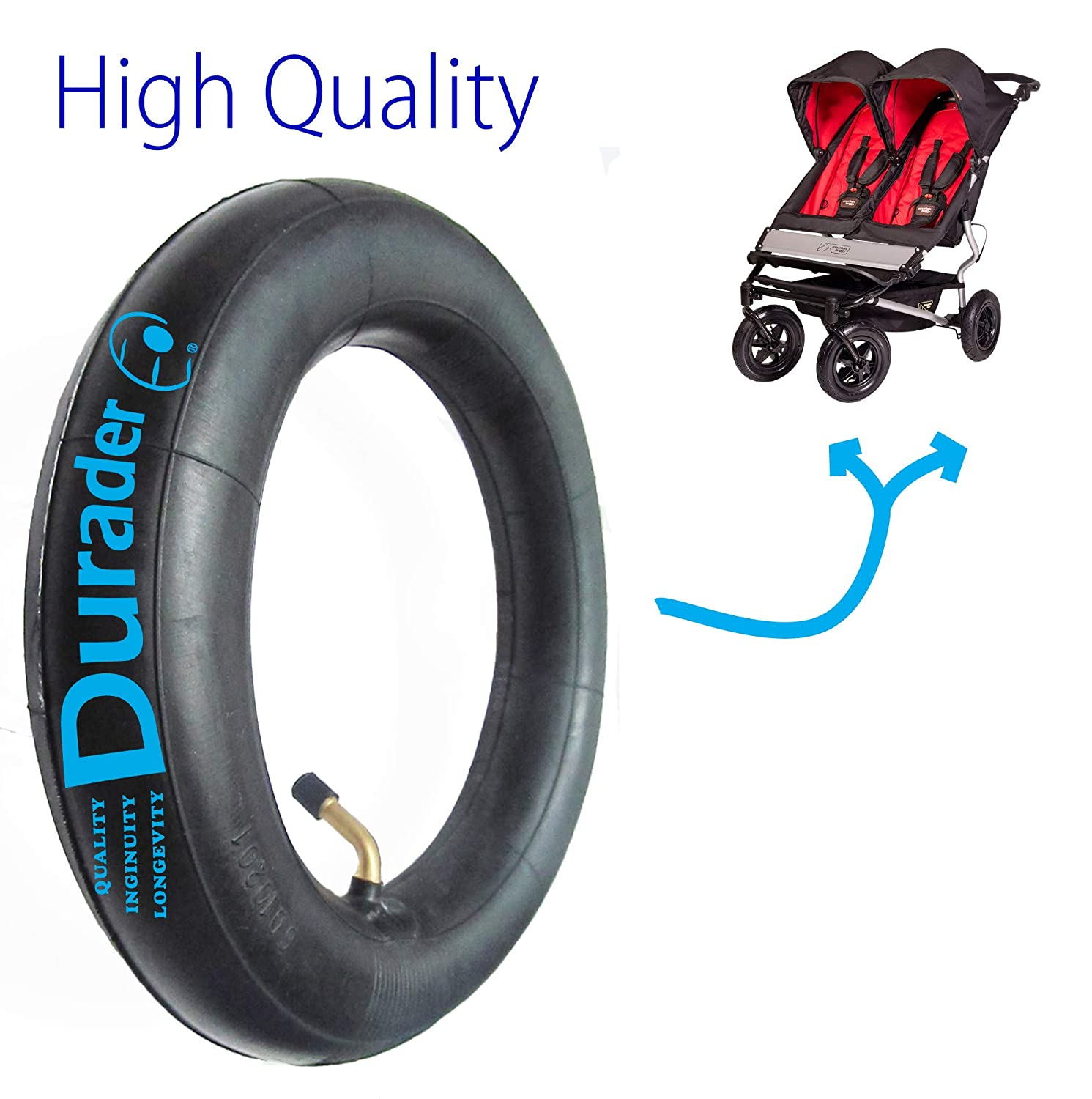 """REPLACEMENT INNER TUBE SET FOR MOUNTAIN BUGGY BREEZE SIZE 10/"""" X 2"""