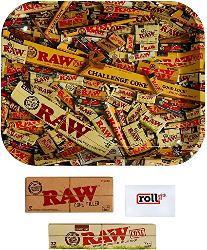 100 Gram RAW Organic Unrefined Pre-Rolled Cone 32 Pack King Size