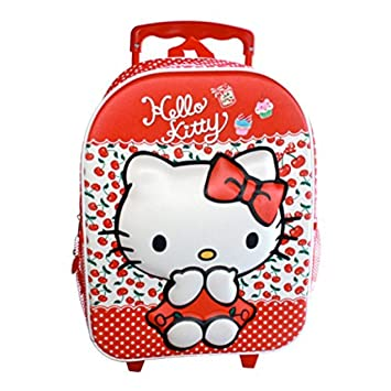 Planet Happy Toys - As7162 mochila 3d trolley hello kitty: Amazon.es: Equipaje