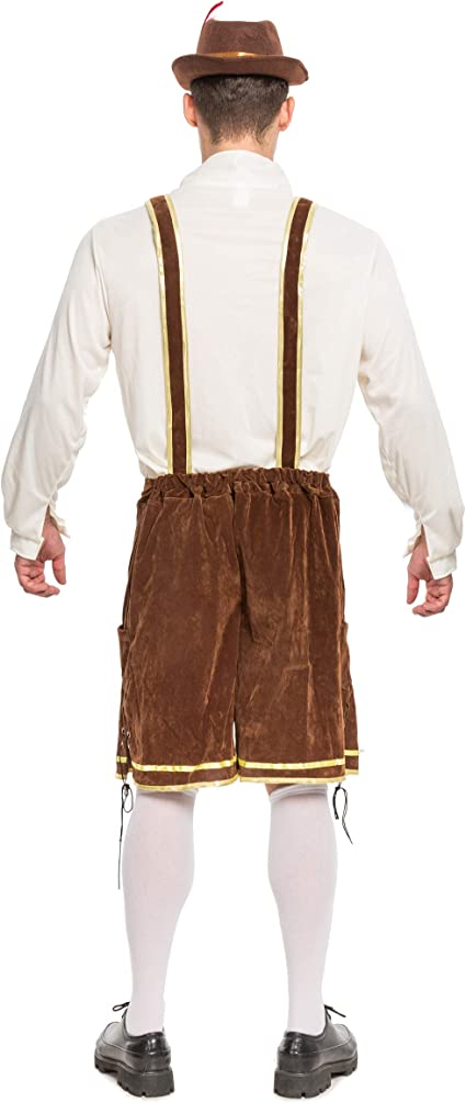 Amazon.com: Disfraz alemán de Oktoberfest para hombre, para ...