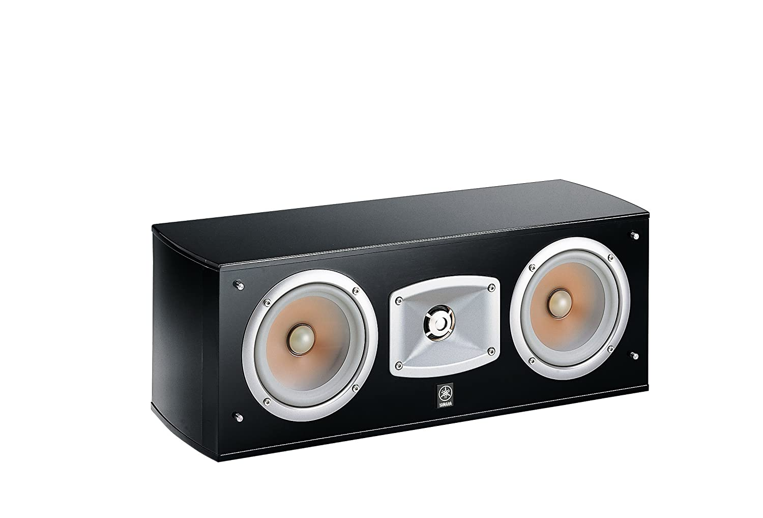 Yamaha NS C 444 Center Speaker 2-Way Centre Speaker Acoustic Suspension Double Woofer Black Piano Lacquer Yamaha Music EU - Italy branch NSC444 P sellerccB155830