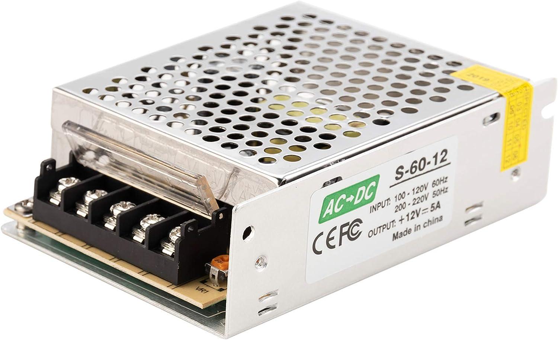 220V a DC 12V 30A 350W LED Transformador de voltaje Reino Unido Gaoominy AC 110