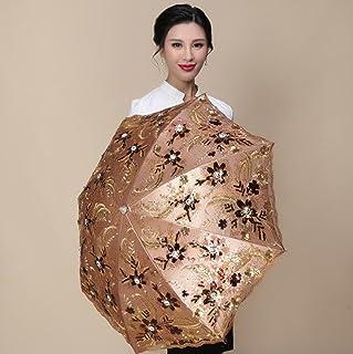 Hzhy Parapluie Dentelle Lady coréenne Douce Princesse Dentelle Longue Parapluie Parapluie Double Parapluie édition limitée