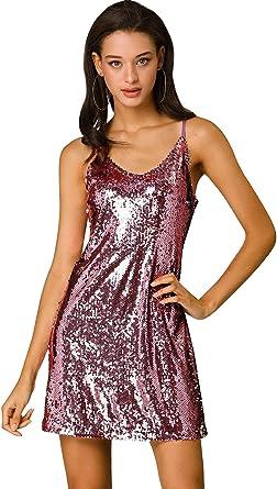 Womens Mini Dress Size 8 10 New Ladies Purple Party V Neck Sparkle Knit Short