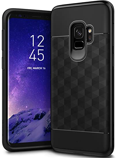 innovative design ef5bf 693dc Caseology Parallax for Galaxy S9 Case (2018) - Award Winning Design - Black