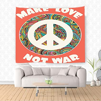 Amazon Com Nalahome Groovy Decorations Hippie Style Ornamental