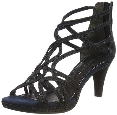 MARCO TOZZI Platform Sandals black