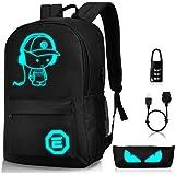 Luminous School Backpack,Horsk...