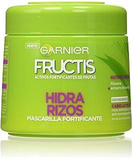 Garnier Fructis Hidra Rizos Mascarilla Capilar Pelo Rizado u Ondulado - Paquete de 3 x 300