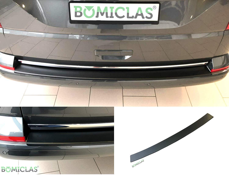 BOMICLAS Protection de seuil de chargement en aluminium noir mat