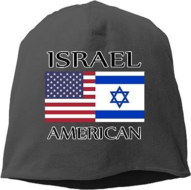 SHA45TM Thin Blue Line Flag Men Women Winter Helmet Liner Fleece Skull Cap Beanie Hat for Cycling Black