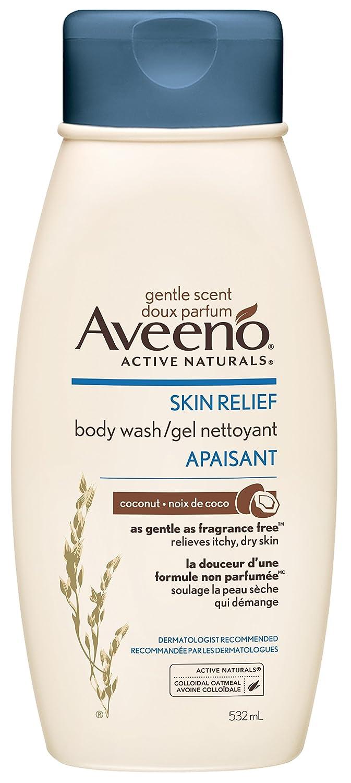Aveeno Body Wash Skin Relief Gentle Scent Chamomile Body Wash, 532 ml Johnson & Johnson