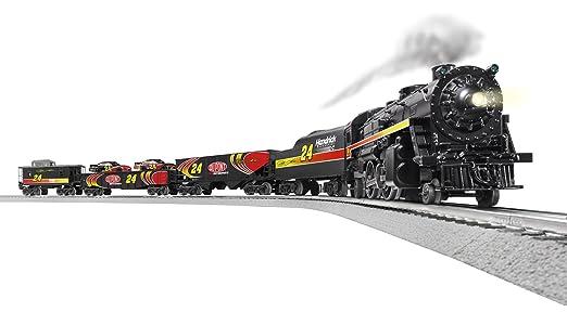 Lionel O gauge NASCAR ready-to-run set | Classic Toy Trains Magazine