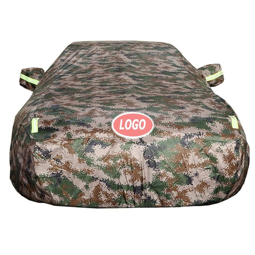 Color : Camouflage, Size : 2018 Car Cover M3 SUV Sedan Waterproof All Weather Outdoor