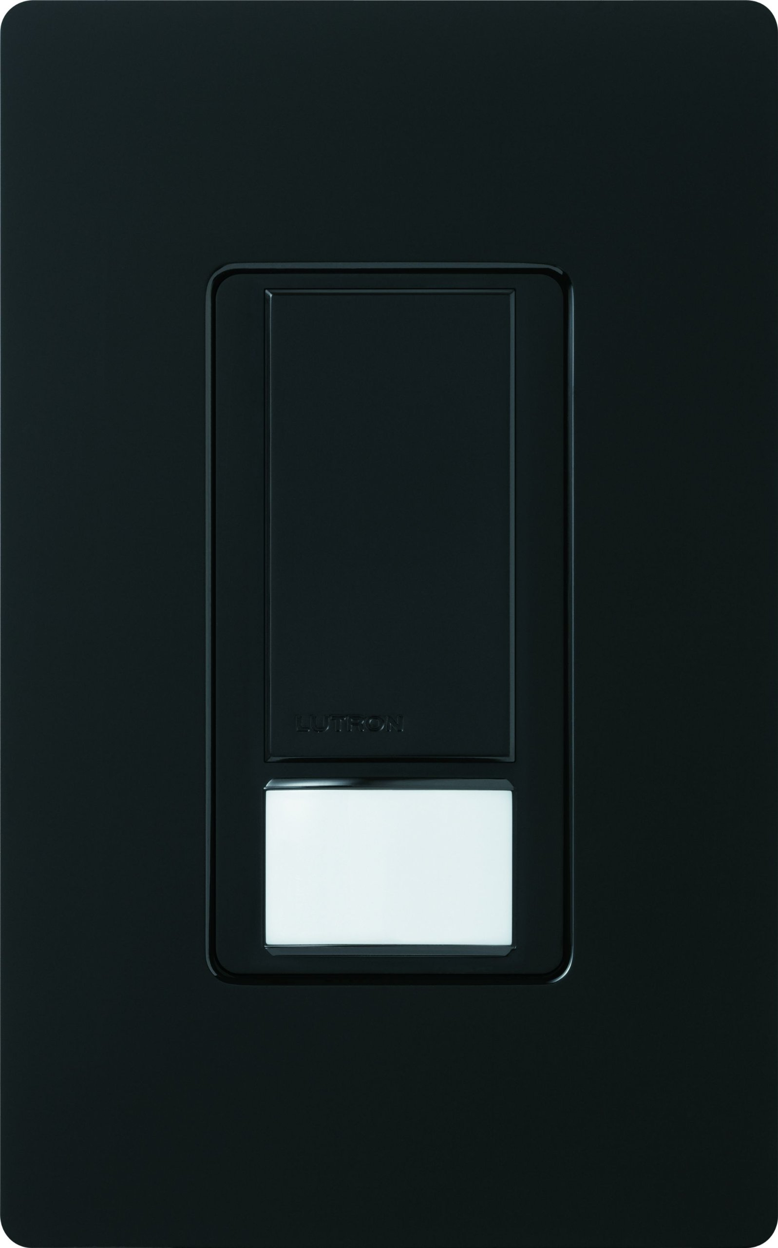 Lutron Maestro Sensor switch, 2A, No Neutral Required, Single-Pole, MS-OPS2-BL, Black by Lutron (Image #2)