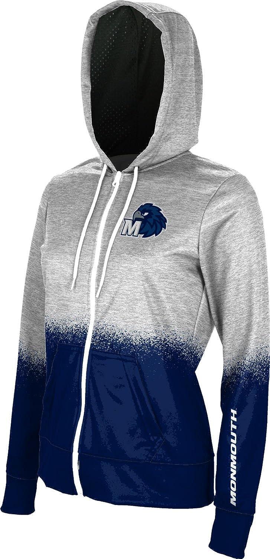 School Spirit Sweatshirt ProSphere Monmouth University Girls Zipper Hoodie Spray Over