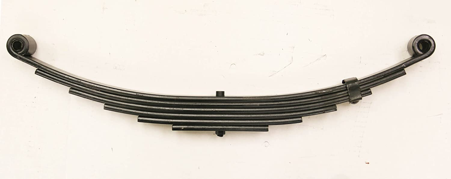 20029 New Trailer Leaf Spring-6 Leaf Double Eye 3500lbs Capacity for 7000 Lbs Axle