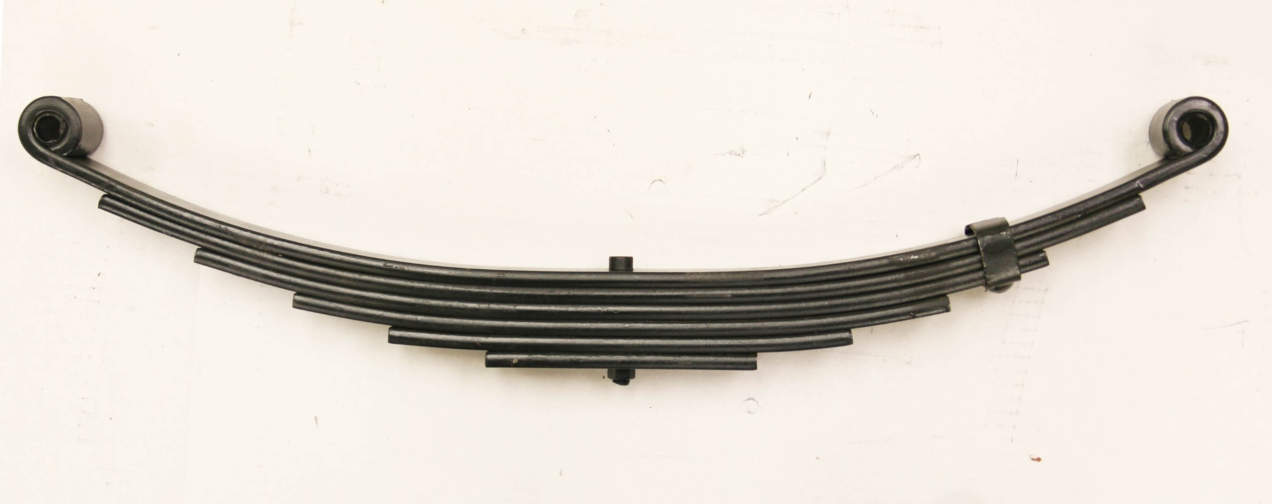 New Trailer Leaf Spring-6 Leaf Double Eye 3500lbs Capacity for 7000 Lbs Axle - 20029 by Libra