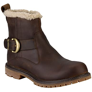 f83f42ef7c16 Timberland Womens Womens Nellie Biker Boots in Brown - UK 7.5 ...
