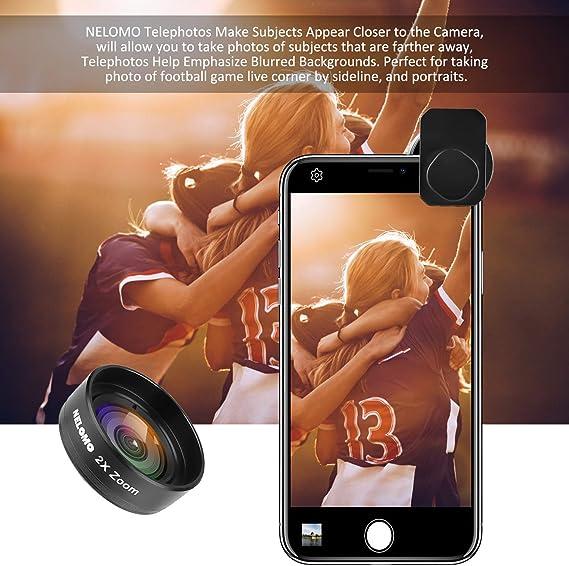 NELOMO Kit de Lentes para Smartphone HD: Amazon.es: Electrónica