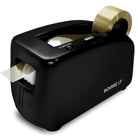 Dispensador automático de cinta Bizarre.ly. Dispensador profesional para oficina con centro