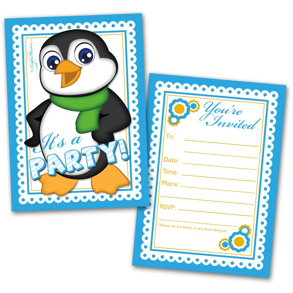 Amazon Party Invitation Cards 20 Cards With 20 Envelopes