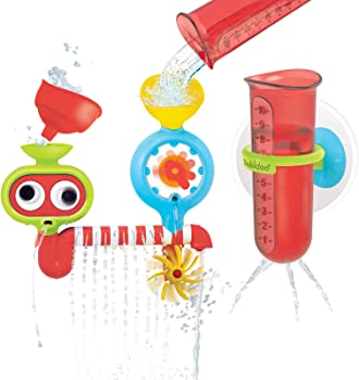 Yookidoo Spin 'N' Sprinkle Water Lab Baby Bath Toy